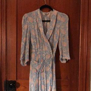 Vintage bathrobe